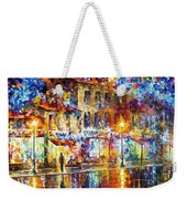 Colors Of Emotions - Palette Knife Oil Painting On Canvas By Leonid Afremov Weekender Tote Bag
