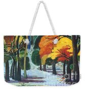 Colors Of Fall Weekender Tote Bag