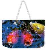 Colors Of Koi Weekender Tote Bag