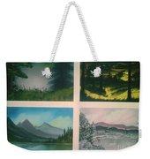 Colors Of Landscape 2 Weekender Tote Bag