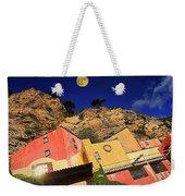 Colors Of Liguria Houses - Facciate Case Colori Di Liguria 3 Weekender Tote Bag