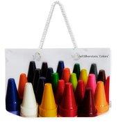 Colors Of Me Weekender Tote Bag