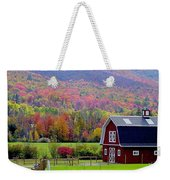 Colors Of New England Weekender Tote Bag