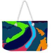Colors Of The Coral Weekender Tote Bag
