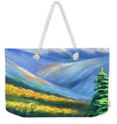Colors Of The Mountains 2 Weekender Tote Bag