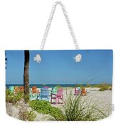 Colors Of The Seats Weekender Tote Bag