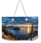 Colors Of The Spring Morning At Discovery Point Weekender Tote Bag