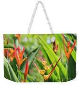 Colors Of The Tropics Weekender Tote Bag