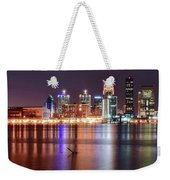 Colors On The Louisville Riverfront Weekender Tote Bag