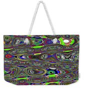 Colors Rolled And Flattened Abstract Weekender Tote Bag