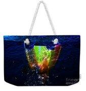 Colorscope Collage In Water Weekender Tote Bag