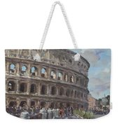 Colosseo Rome Weekender Tote Bag