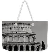 Colosseum Or Coliseum Black And White Weekender Tote Bag