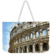 Colosseum Or Coliseum Pencil Weekender Tote Bag