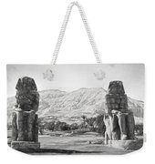 Colossi Of Memnon 2 Weekender Tote Bag