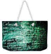 Colour Weekender Tote Bag