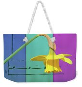 Colour Blocking Spring Weekender Tote Bag