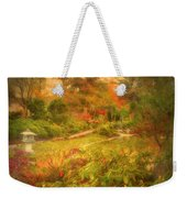 Colour Explosion In The Japanese Gardens Weekender Tote Bag