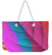 Colour Leaf Weekender Tote Bag