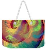 Colour Spiral Weekender Tote Bag