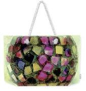 Coloured Glass Bowl Weekender Tote Bag