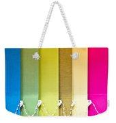 Colourful Blind Weekender Tote Bag