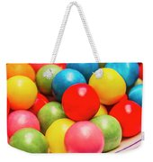 Colourful Bubblegum Candy Balls Weekender Tote Bag