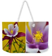 Colourful Colombine Weekender Tote Bag