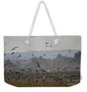 Colourful Flying Chaos Weekender Tote Bag