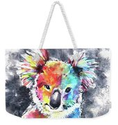 Colourful Koala Weekender Tote Bag