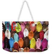 Colourful Morroccan Slipper Weekender Tote Bag