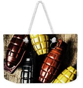 Colourful Munitions  Weekender Tote Bag