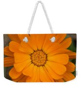 Colourful Orange Signet Marigold  Weekender Tote Bag
