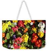 Colourful Spring Flowers Weekender Tote Bag