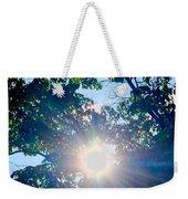 Colourful  Sunburst Weekender Tote Bag