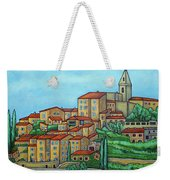 Colours Of Crillon-le-brave, Provence Weekender Tote Bag