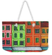 Colours Of Liguria Weekender Tote Bag