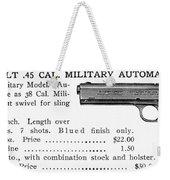 Colt .45 Automatic Pistol Weekender Tote Bag