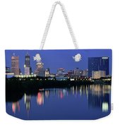 Colts Blue Hour Night Weekender Tote Bag