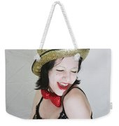 Columbia During A Rhps Performance Weekender Tote Bag