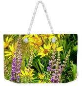 Columbia Gorge Wildflowers Weekender Tote Bag