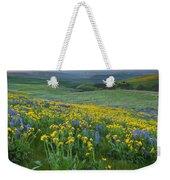 Columbia Hills Wildflower Dawn Weekender Tote Bag