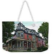 Columbia House Watercolor Weekender Tote Bag