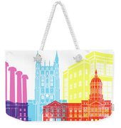 Columbia Mo Skyline Pop Weekender Tote Bag