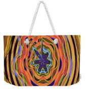 Columbia River Abstract #8045 Weekender Tote Bag