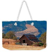 Columbia River Barn Weekender Tote Bag