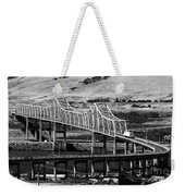Columbia River Crossing Weekender Tote Bag