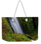 Columbia River Gorge Falls 1 Weekender Tote Bag