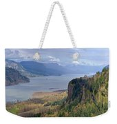 Columbia River Gorge Oregon State Panorama. Weekender Tote Bag