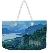 Columbia River Gorge Panoramic Weekender Tote Bag